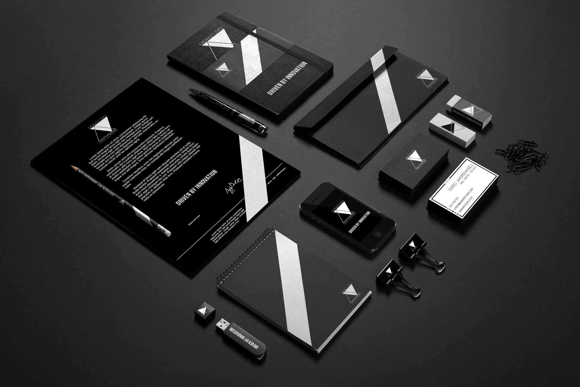 DAEMA STUDIO Brand Identity