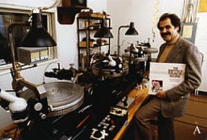 Doug Sax nel suo studio Masterlab nel 1967